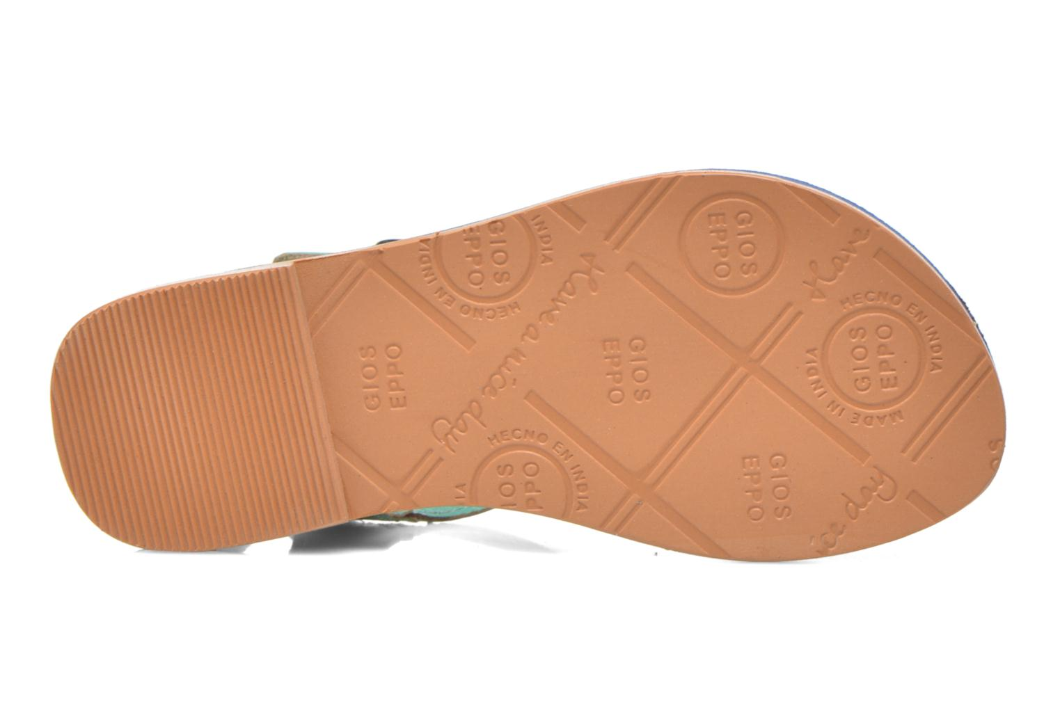 Sandals Gioseppo Rose Blue view from above