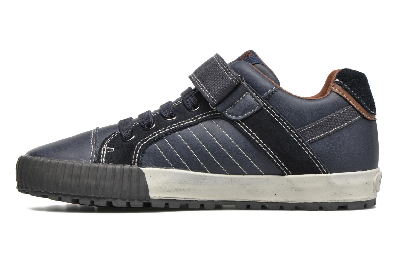Sneaker Geox JR Mythos J54L4B blau ansicht von vorne