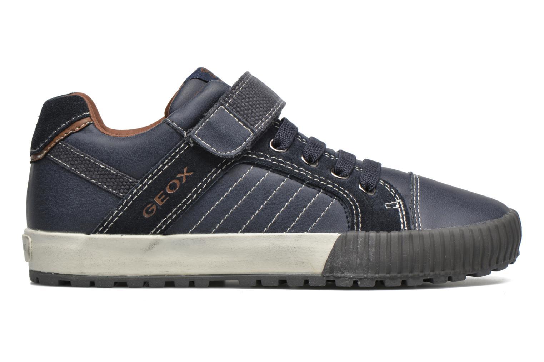 Sneaker Geox JR Mythos J54L4B blau ansicht von hinten