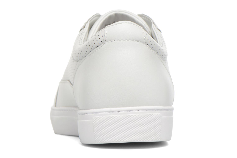 Sneakers Armani Jeans Francesco Vit Bild från höger sidan
