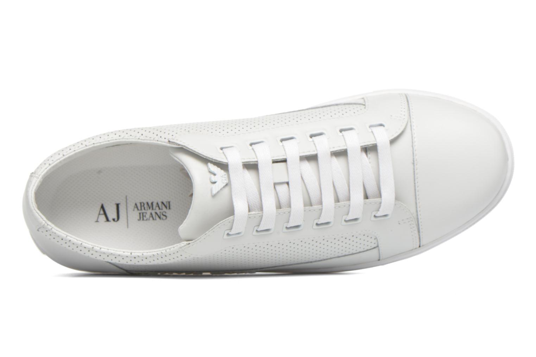 Sneakers Armani Jeans Francesco Vit bild från vänster sidan