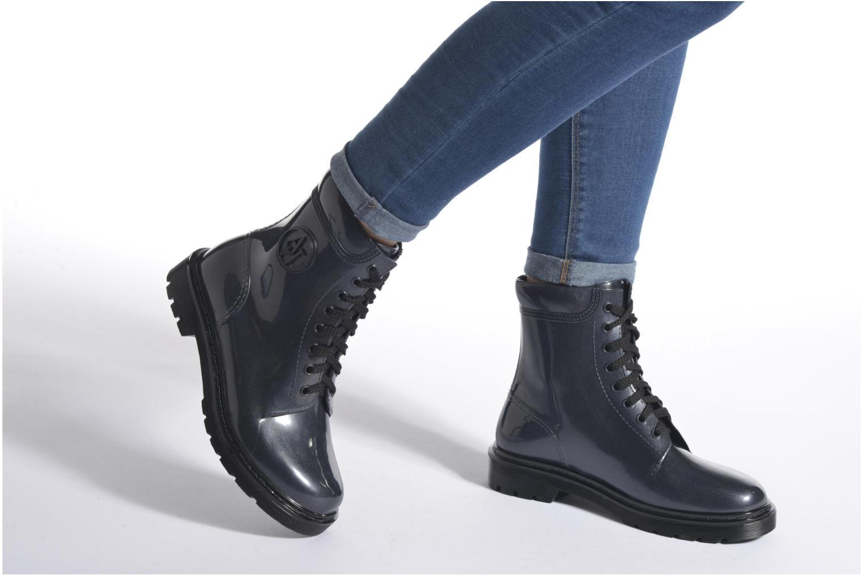 Bottines et boots Armani Jeans Claudia Bleu vue bas / vue portée sac