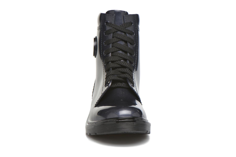 Bottines et boots Armani Jeans Claudia Bleu vue portées chaussures