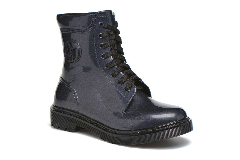 Bottines et boots Armani Jeans Claudia Bleu vue détail/paire