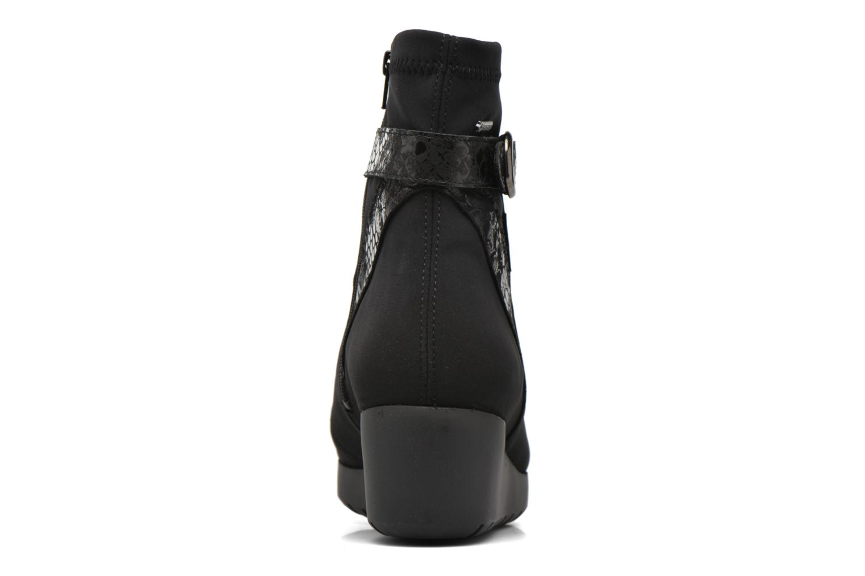 Bottines et boots Mephisto Tyba Noir vue droite