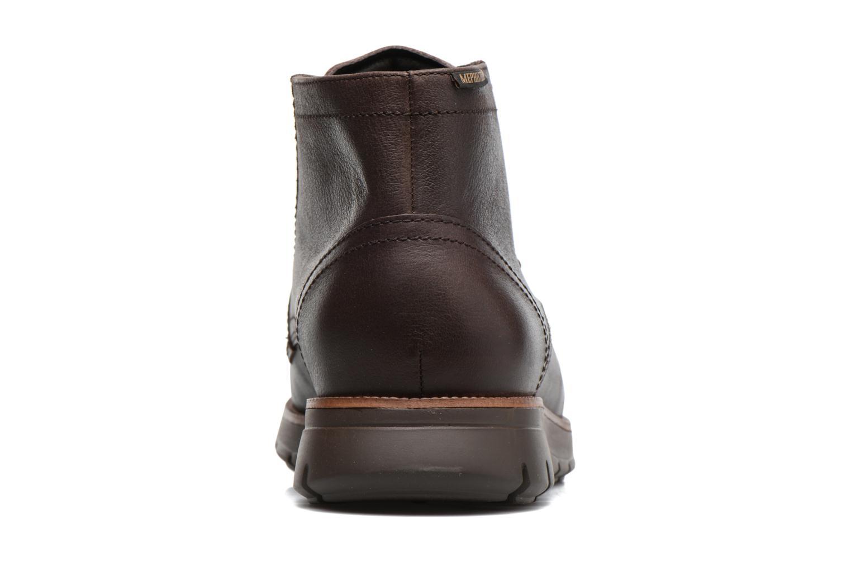 Chaussures à lacets Mephisto Bill Marron vue droite