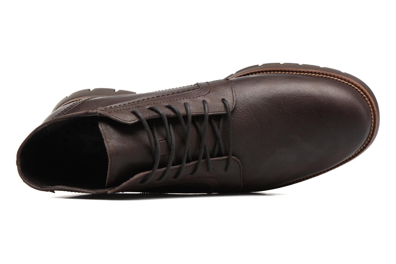 Chaussures à lacets Mephisto Bill Marron vue gauche