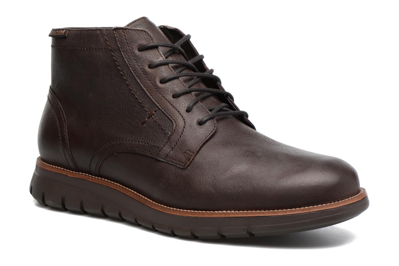 Chaussures à lacets Mephisto Bill Marron vue détail/paire