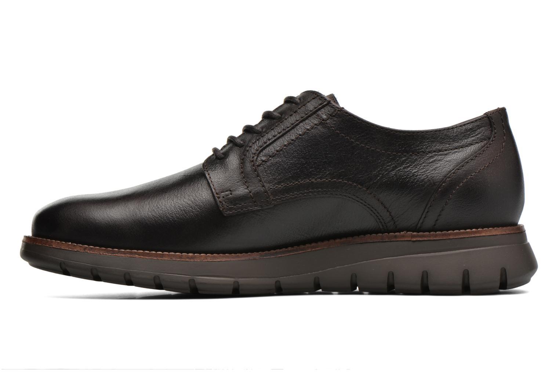 Chaussures à lacets Mephisto Brett Marron vue face