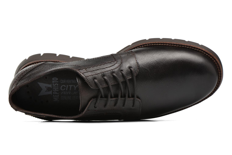 Chaussures à lacets Mephisto Brett Marron vue gauche