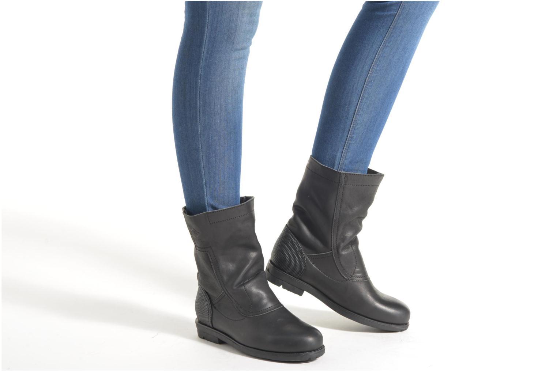 Bottines et boots P-L-D-M By Palladium Dove CML Noir vue bas / vue portée sac