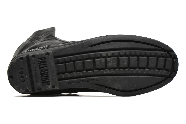 Bottines et boots P-L-D-M By Palladium Dove CML Noir vue haut