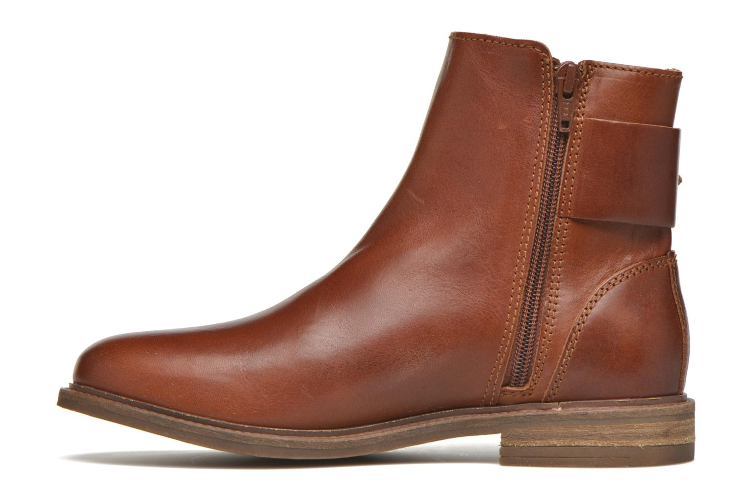 Ankle boots P-L-D-M By Palladium Namely CT Brown front view