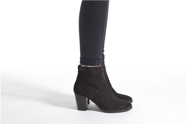 Bottines et boots P-L-D-M By Palladium Onside Sud Marron vue bas / vue portée sac