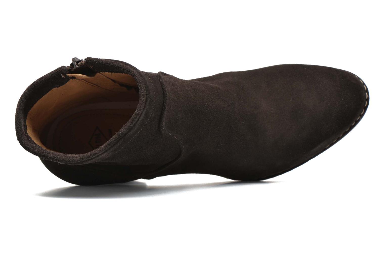 Bottines et boots P-L-D-M By Palladium Onside Sud Marron vue gauche
