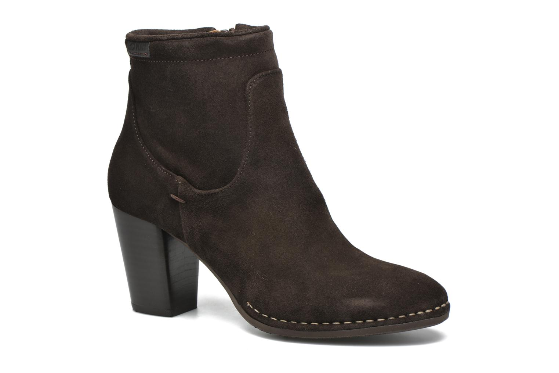 Bottines et boots P-L-D-M By Palladium Onside Sud Marron vue détail/paire