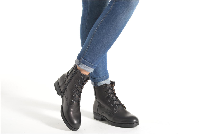 Bottines et boots P-L-D-M By Palladium Upto IBX Noir vue bas / vue portée sac