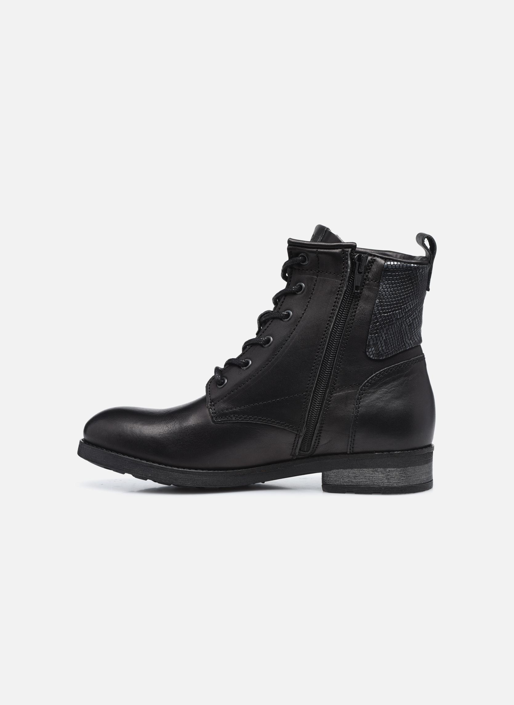 Bottines et boots P-L-D-M By Palladium Upto IBX Noir vue face