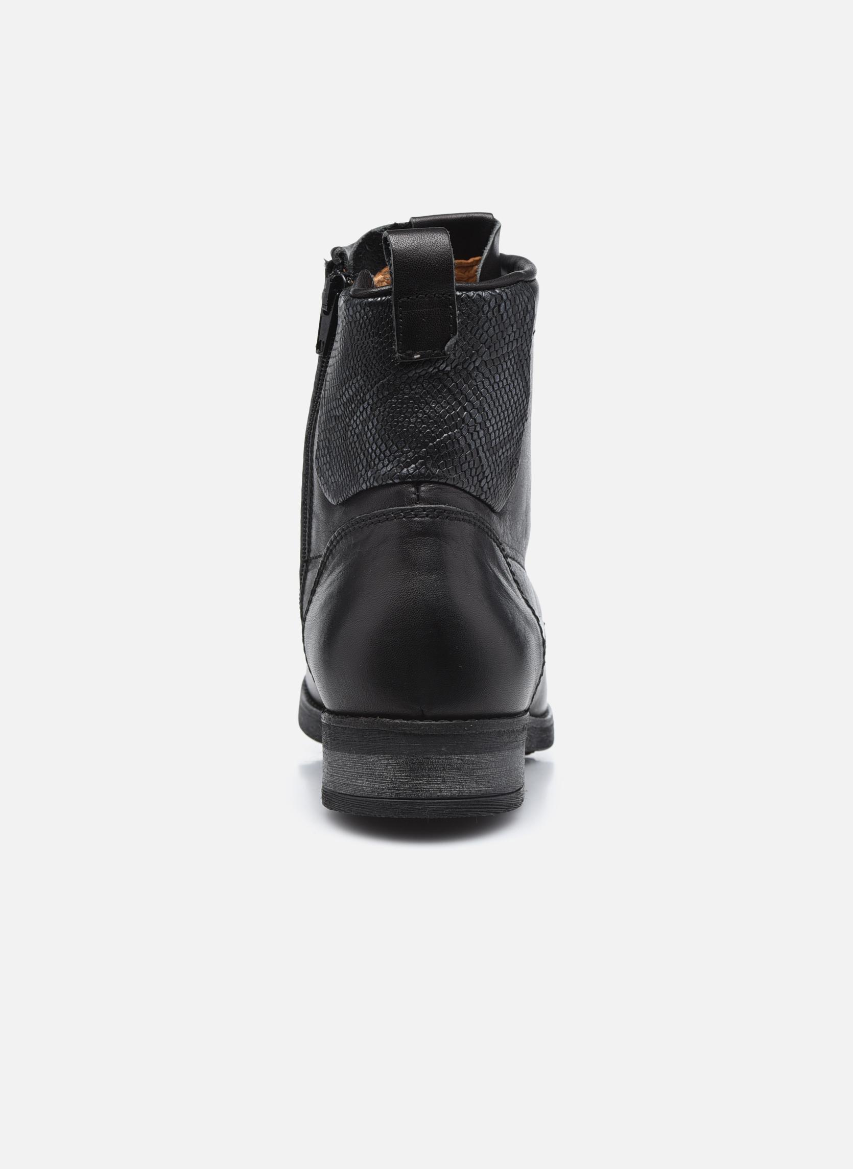 Bottines et boots P-L-D-M By Palladium Upto IBX Noir vue droite