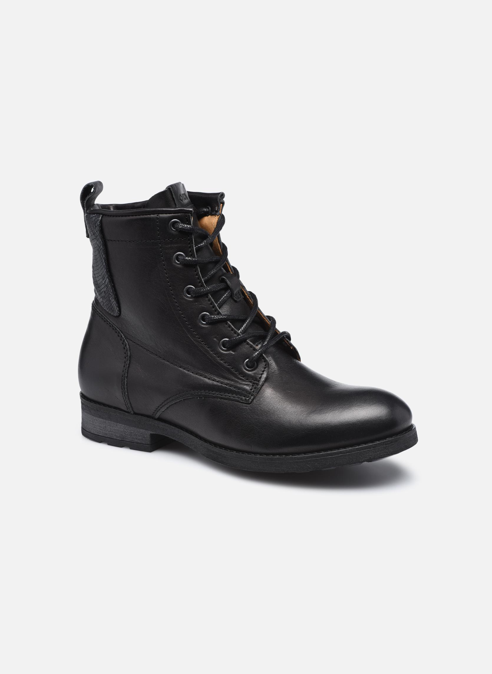 Bottines et boots P-L-D-M By Palladium Upto IBX Noir vue détail/paire