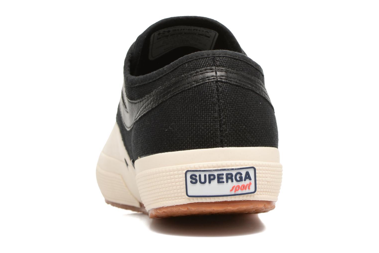 Sneaker Superga 2750 Cotu Panatta schwarz ansicht von rechts