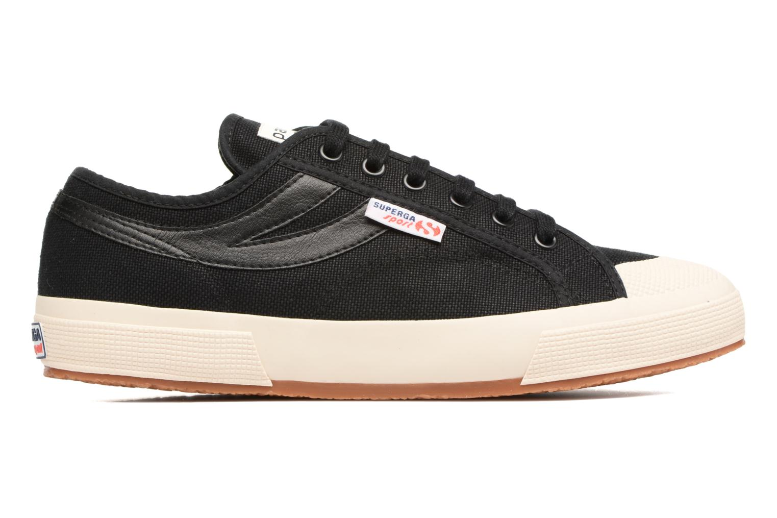 Trainers Superga 2750 Cotu Panatta Black back view