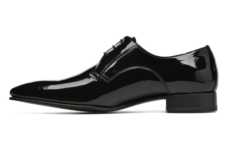 Zapatos con cordones Finsbury Campoli2 Negro vista de frente