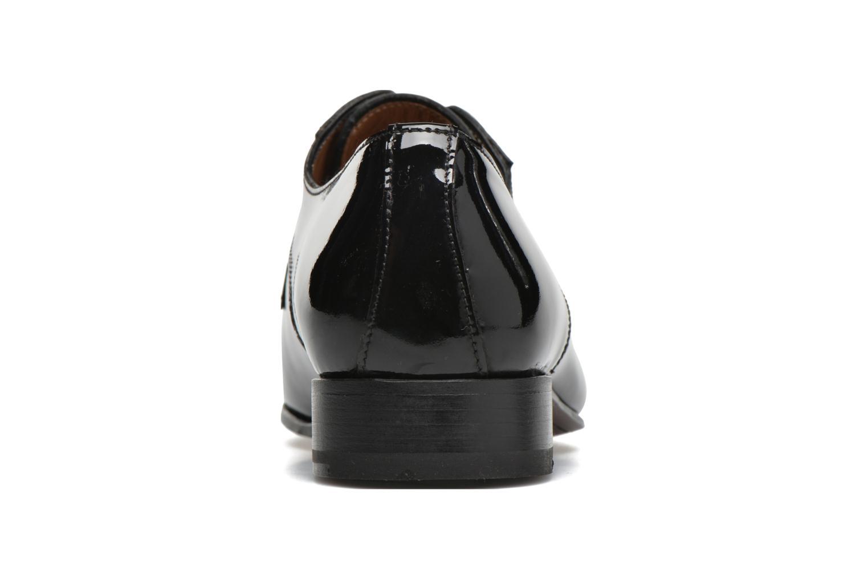 Zapatos con cordones Finsbury Campoli2 Negro vista lateral derecha