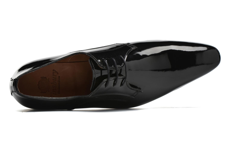 Zapatos con cordones Finsbury Campoli2 Negro vista lateral izquierda