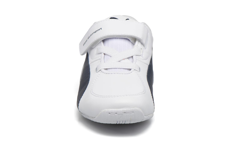 Baskets Puma Inf Drift Cat5 L Bmw V / Ps Drift Cat 5 L Bmw Blanc vue portées chaussures