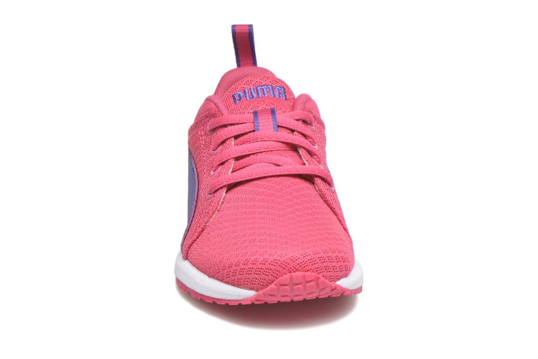 Baskets Puma Inf Carson Nightc V  Ps Carson Nightc V Rose vue portées chaussures