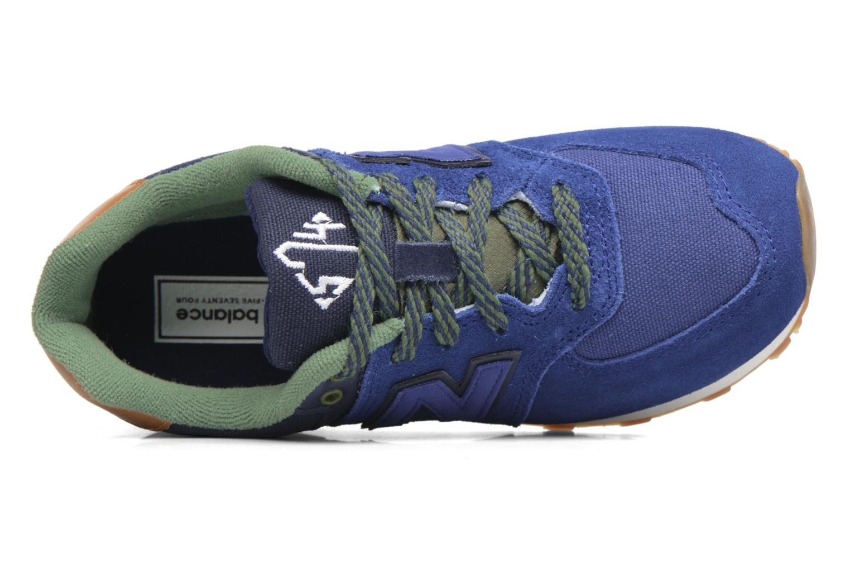 Sneakers New Balance KL574 M Azzurro immagine sinistra