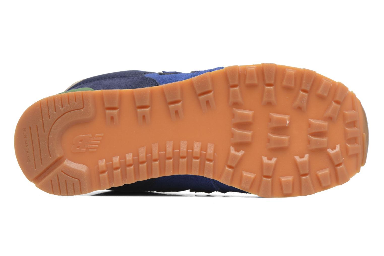 Sneaker New Balance KL574 M blau ansicht von oben