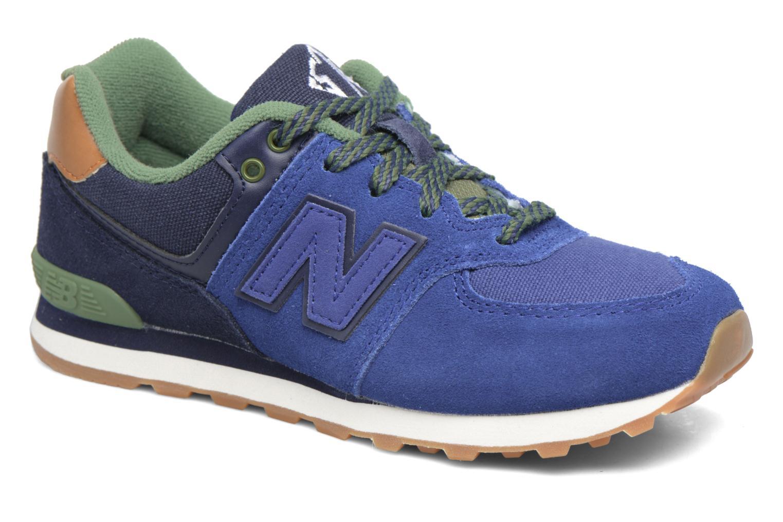 Sneaker New Balance KL574 M blau detaillierte ansicht/modell