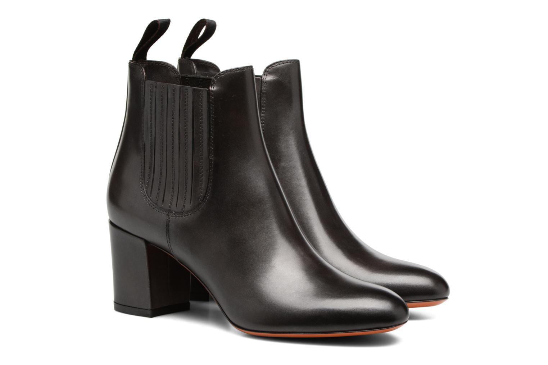 Bottines et boots Santoni Venus 55880 Gris vue 3/4