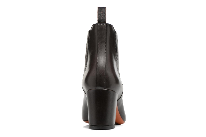 Bottines et boots Santoni Venus 55880 Gris vue droite