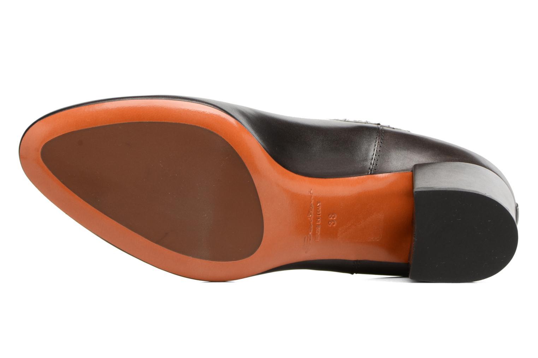 Bottines et boots Santoni Venus 55880 Gris vue haut
