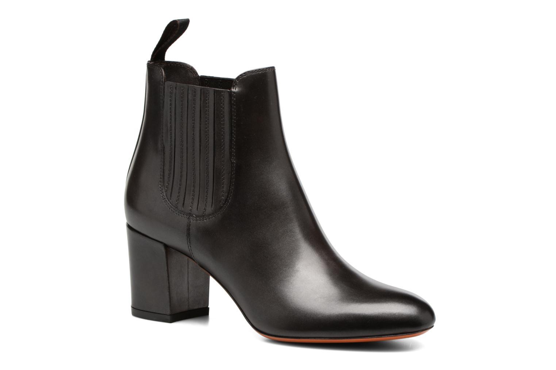 Bottines et boots Santoni Venus 55880 Gris vue détail/paire