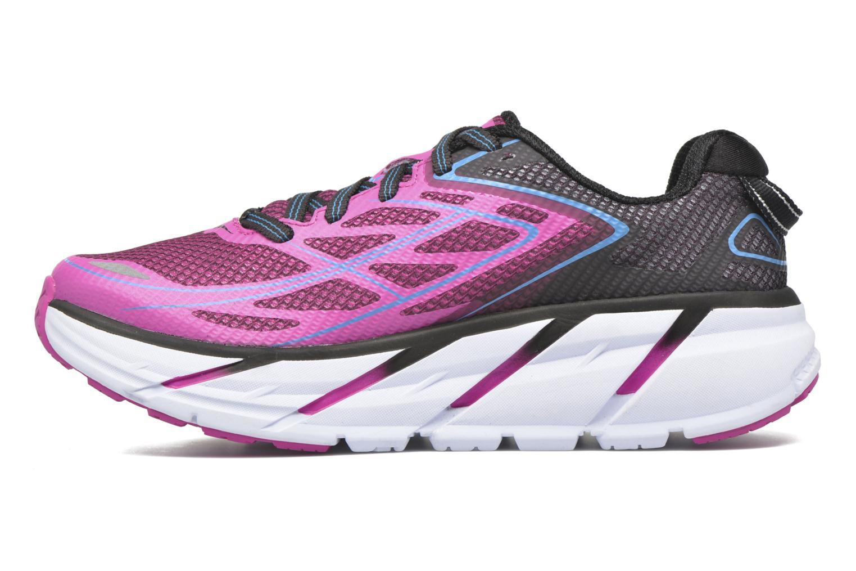 Chaussures de sport Hoka One One Clifton 3 W Rose vue face