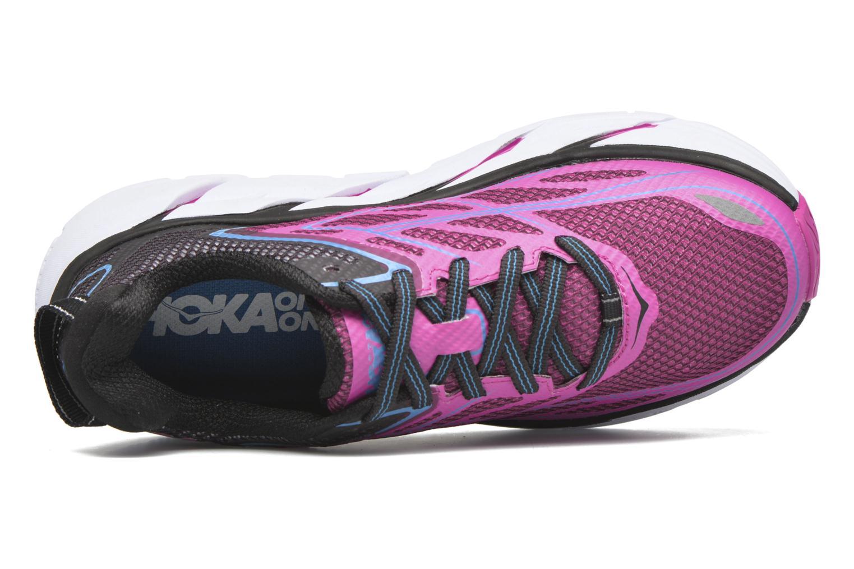 Chaussures de sport Hoka One One Clifton 3 W Rose vue gauche