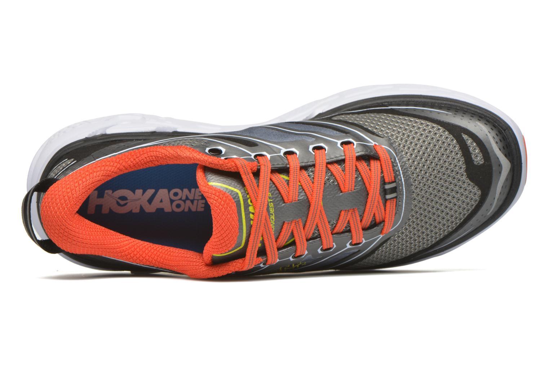 Chaussures de sport Hoka One One Conquest 3 Gris vue gauche
