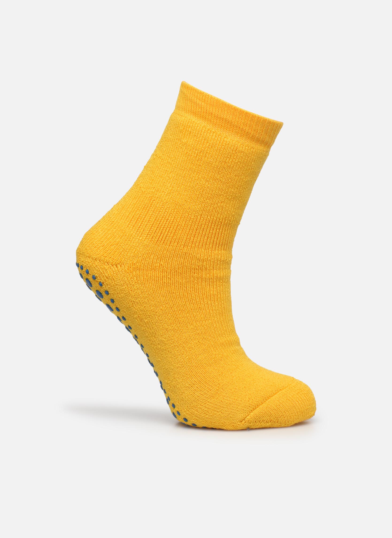 Medias y Calcetines Falke Chaussons-chaussettes Catspads Amarillo vista de detalle / par