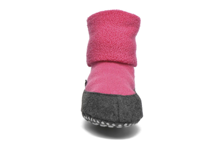 Calze e collant Falke Chaussons-chaussettes Cosyshoes Rosa modello indossato