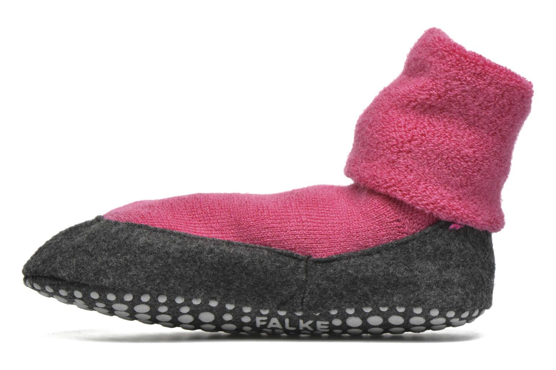 Chaussettes et collants Falke Chaussons-chaussettes Cosyshoes Rose vue face