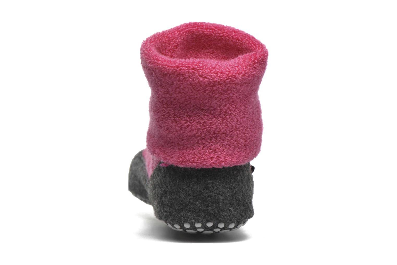 Chaussettes et collants Falke Chaussons-chaussettes Cosyshoes Rose vue droite
