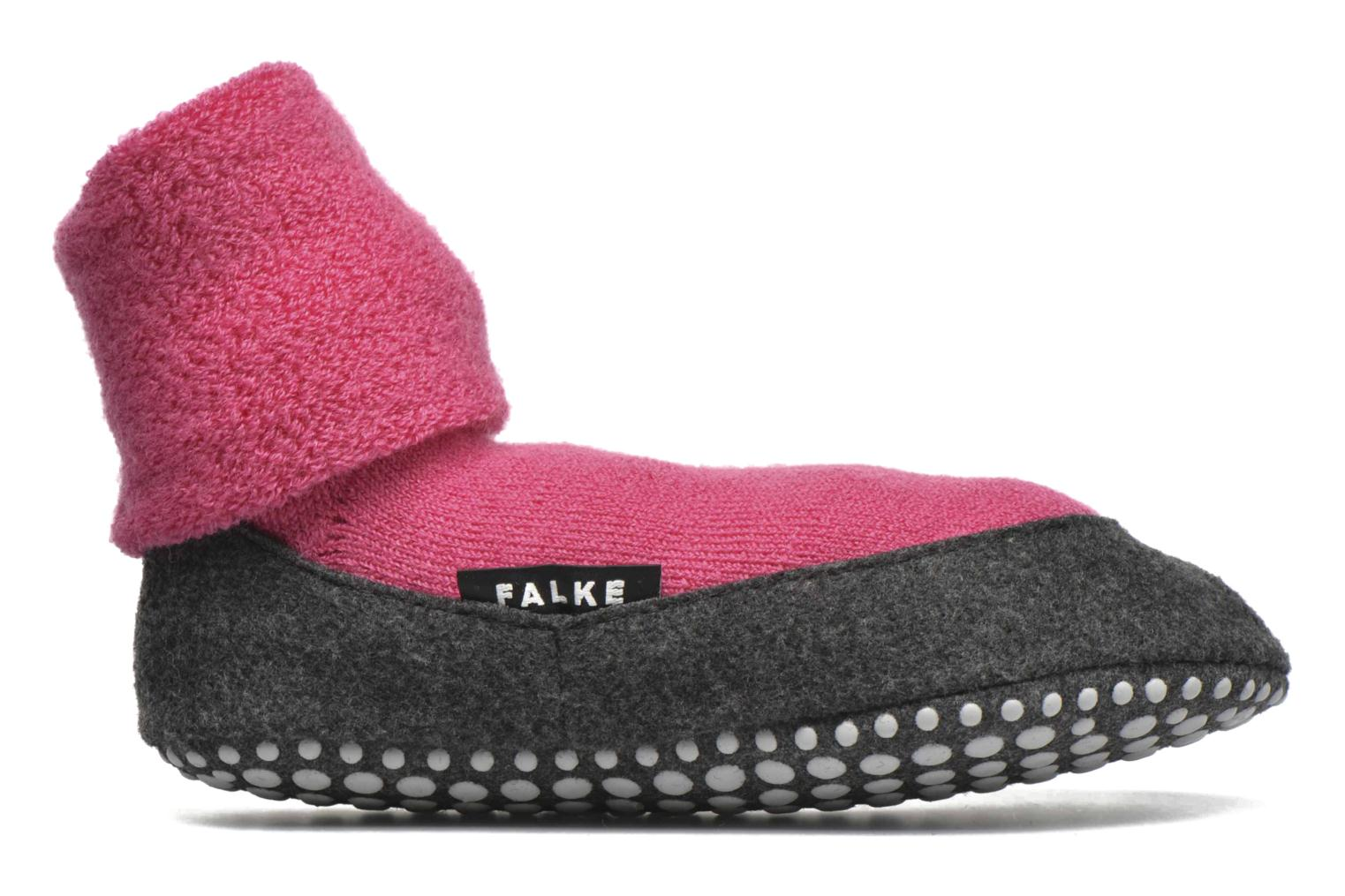Socks & tights Falke Chaussons-chaussettes Cosyshoes Pink back view
