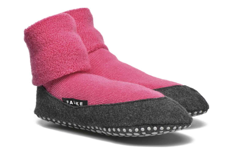 Chaussettes et collants Falke Chaussons-chaussettes Cosyshoes Rose vue détail/paire