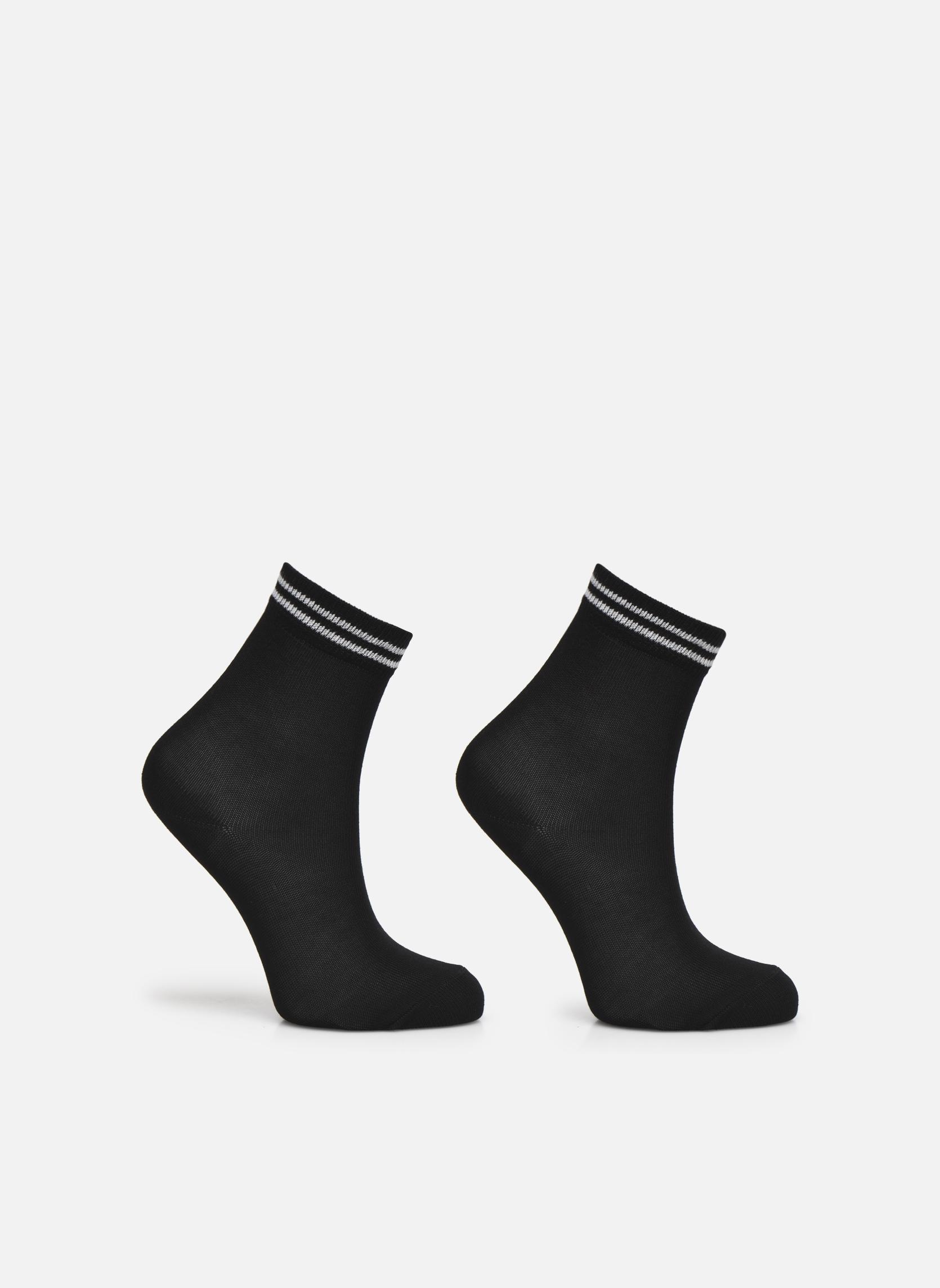 Strømper og tights Falke Chaussettes 2 Friends Sort detaljeret billede af skoene