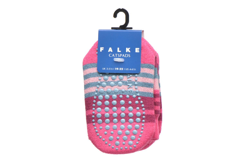 Strumpor och strumpbyxor Falke Chaussons-chaussettes Irregular Stripe Catspads Multi bild från baksidan
