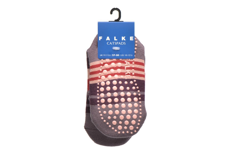 Calze e collant Falke Chaussons-chaussettes Irregular Stripe Catspads Multicolore immagine posteriore